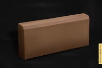 Бордюр коричневый 500*200*70